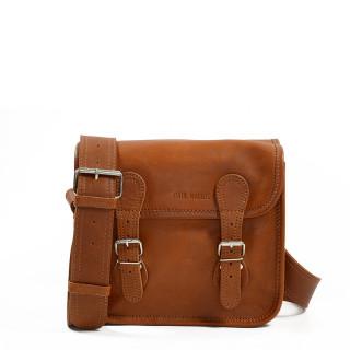 Paul Marius LaSacoche S Crossbody Bag Natural Brown