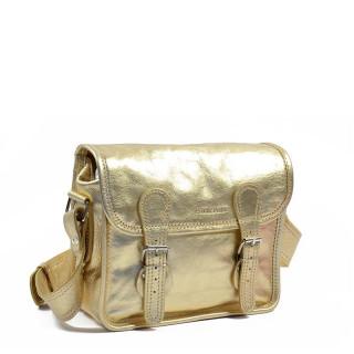 Paul Marius LaSacoche S Crossbody Bag Golden Metal
