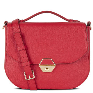 Lancaster Delphino Besace 527-51 Rouge