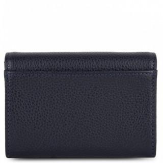 Lancaster Foulonne Double Wallet 170-20 Blue Fonce
