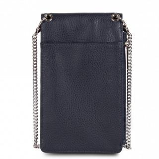 Lancaster Foulonne Leather Smartphone Pocket 170-27 Blue Fonce