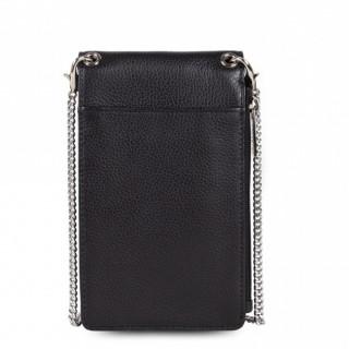 Lancaster Foulonne Pochette Smartphone Cuir 170-26 Noir