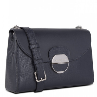 Lancaster Foulonne Pia Crossbody Bag 547-60 Blue Fonce