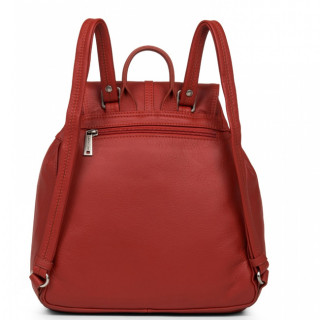 Lancaster Soft Vintage Nova Backpack 5764 Red
