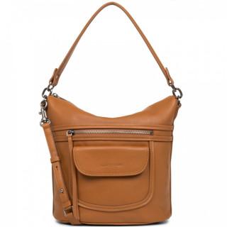Lancaster Soft Vintage Axelle Bucket Bag 578-97 Honey