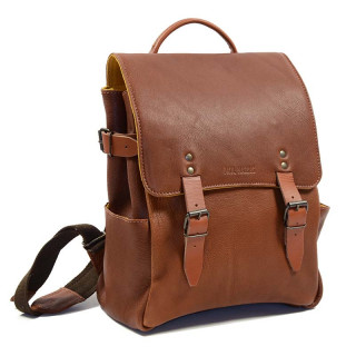 "Paul Marius L'Audacieux Back Pack 13"" Laptop Natural"