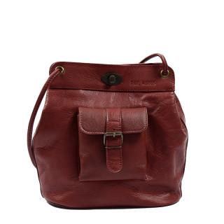 Paul Marius Le1950 Bucket Bag Burgundy