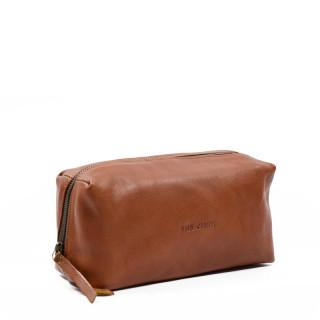 Paul Marius LeBarbier Leather Cosmetic Kit Natural