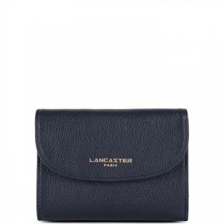 Lancaster Dune Wallet Back to Back 129-26 Dark Blue