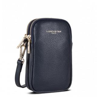 Lancaster Dune Leather Smartphone Pocket 129-28 Blue Fonce