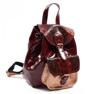 Paul Marius LeBaroudeur Leather Backpack Chimera Passion