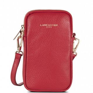 Lancaster Dune Leather Smartphone Pocket 129-28 Red