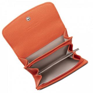 Lancaster Foulonne Double Wallet 170-20 Orange