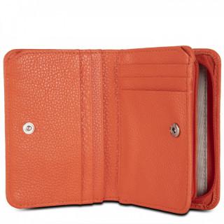 Lancaster Foullone Double Wallet Back to Back 170-21 Orange