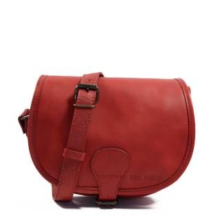 Paul Marius LeBohemien Crossbody Bag Red Carmin