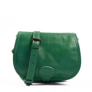 Paul Marius LeBohemien leather Crossbody Bag Emerald