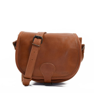 Paul Marius LeBohemian Leather Crossbody Bag Natural