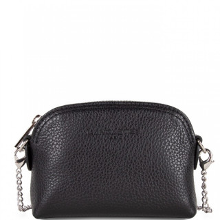 Lancaster Foulonne Double Wallet Currency 170-28 Black