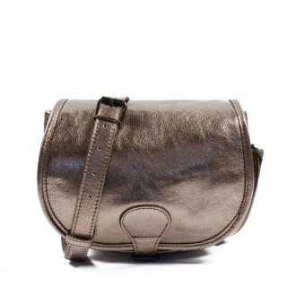 Paul Marius LeBohemien Metal Leather Crossbody Bag Copper