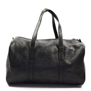 Paul Marius LeCabine Leather Travel Cabin Bag Black