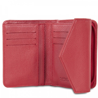 Lancaster Foulonne Double Wallet Back A back 170-29 Red