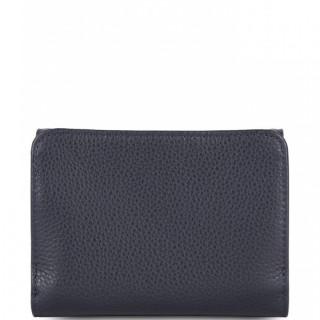 Lancaster Foulonne Double Wallet Back A back 170-29 Dark Blue