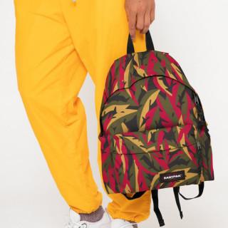 Eastpak Padded Pak'R Sac à Dos I80 Leaves Khaki porté