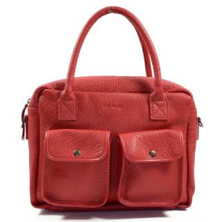 Paul Marius LeDandy Bag Shopping Red Carmin
