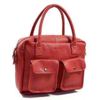 Paul Marius LeDandy Sac Shopping Rouge Carmin