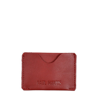 Paul Marius LeGabin Card Holder Red