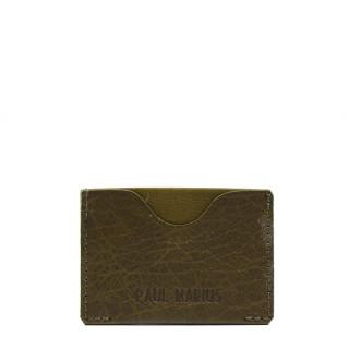 Paul Marius LeGabin Card Holder Kaki Green