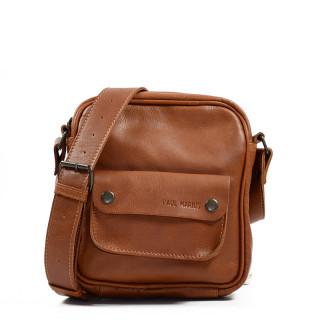 Paul Marius LeSaint Marc Men's Natural Leather Pocket