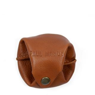 Paul Marius L'Escarcelle Porte Mint Natural Leather