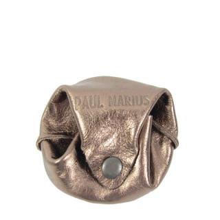 Paul Marius L'Escarcelle Porte Coin Leather Copper