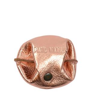 Paul Marius L'Escarcelle Porte Mint Leather Rose Gold
