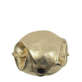 Paul Marius L'Escarcelle Porte Coin Golden Leather