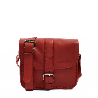 Paul Marius L'Essentiel Sac porté travers Rouge