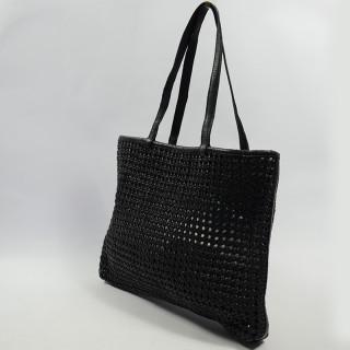 Biba Niwot Bag Cabas Braided Negro