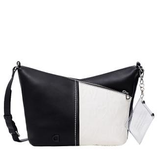 Desigual Katya Safi Mini Belt Bag Silhouette Cross Negro