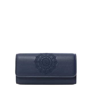 Desigual Mariona Porte-monnaie Allongé Mandala Azul Klein