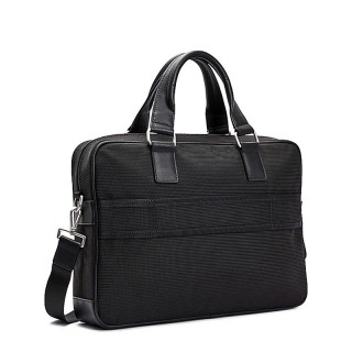 Tommy Hilfiger Elevated Sac Business Polyester Recyclé Noir