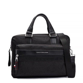 Tommy Hilfiger Elevated Bag Business Polyester Recycled Black