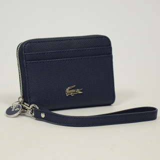 Lacoste Portefeuille Daily zip Classic Marine
