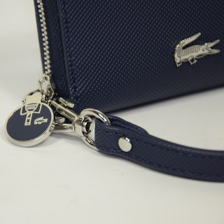 Lacoste Wallet Daily Zip Classic Marine