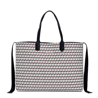Tommy Hilfiger Iconic Sac Cabas à Monogramme Corporate