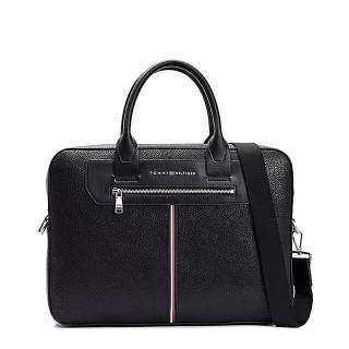 Tommy Hilfiger TH Downtown Laptop Bag Black