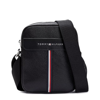 Tommy Hilfiger TH Downtown Bag Reporter Black