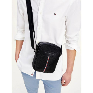 Tommy Hilfiger TH Downtown Reporter Bag Black