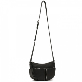Lancaster Soft Vintage Crossbody Bag 578-27 Black