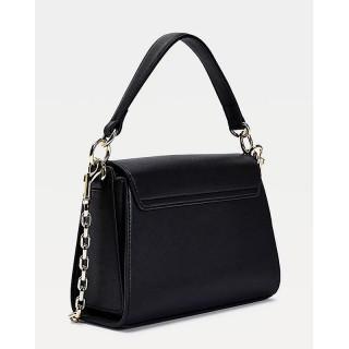 Tommy Hilfiger TH Lock Small Black Handbag